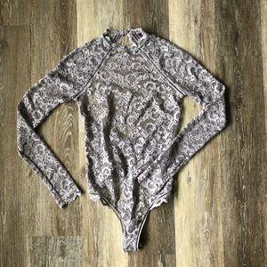 Victoria's Secret lace bodysuit